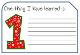 1-2-3-4 Reflect on Learning - 4 Generic Cards to Reflect and Apply Learning