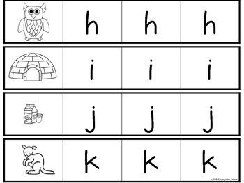 1-2-3 Abécédaire - Alphabet Letter Recognition Activity - French