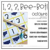 1, 2, 3, BeeBot! Octobre {FRENCH October BeeBot Math}