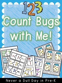 1, 2, 3, Count Bugs with Me!