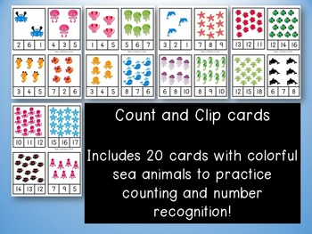 1, 2, 3 Count Ocean Animals with Me!