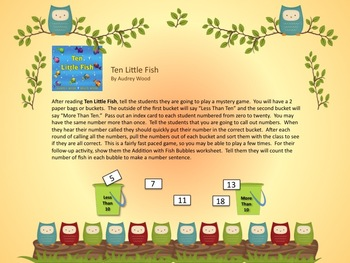 1-2-3 Counting Books Thematic Math - Great for Beginning of Year! CCSS