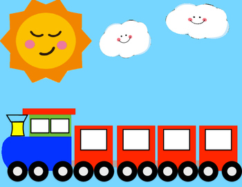 1 2 3 Counting Train