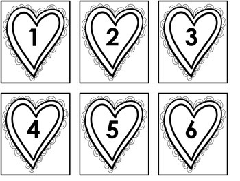 1, 2, 3 FLIP!  A Comparing Numbers Game - Valentine's Theme