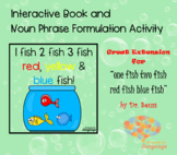 1,2,3 Fish Red, Yellow, Blue Fish Interactive Book Dr Seus