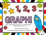 1,2,3...Graph! {Aligned to 2nd Grade Math TEKS 2.10 A, B, C, D}