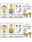 1-2-3 I'm ready to work! - Visual poster