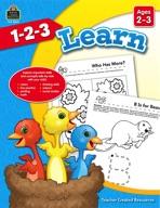 1-2-3 Learn Ages 2-3 (enhanced ebook)