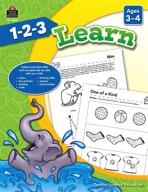1-2-3 Learn Ages 3-4 (enhanced ebook)