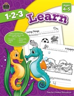 1-2-3 Learn Ages 4-5 (enhanced ebook)