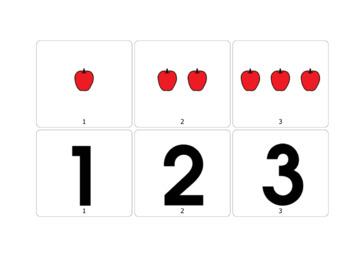 1,2,3 Matching Activity