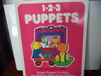 1-2-3 PUPPETS   ISBN# 0-911019-21-9
