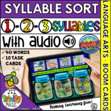 Firefly Syllable Sort (1-3 Syllables) for Distance Learnin