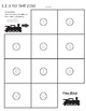 1,2,3 TO THE ZOO Eric Carle Sequencing Activity
