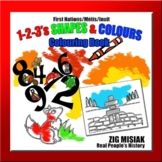 1-2-3, SHAPES & COLOURS, First Nations, Indigenous, Aborig