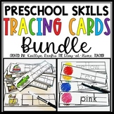 Tracing Cards for Preschool Skills BUNDLE