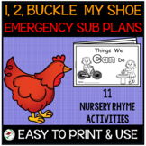 1, 2, BUCKLE MY SHOE EMERGENCY SUB PLANS OR DISTANCE LEARN