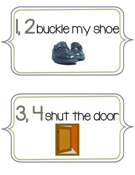 picture relating to One Two Buckle My Shoe Printable known as Just one 2 Buckle My Sneakers Worksheets Schooling Elements TpT