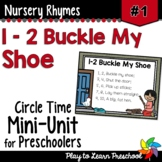 1-2 Buckle My Shoe Nursery Rhyme