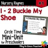 1-2 Buckle My Shoe Nursery Rhyme