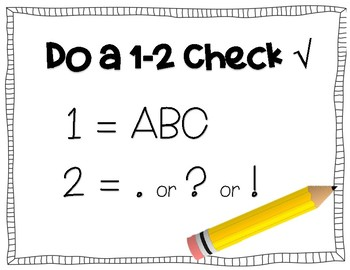 1-2 Check Anchor Chart {FREEBIE}