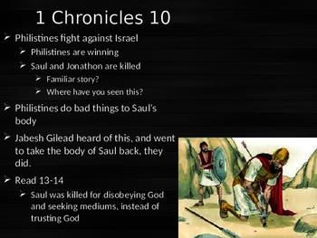 1+2 Chronicles Power Point WalkThrough