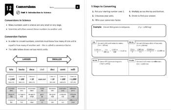 Lesson 1.2 - Conversions