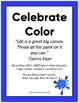 Sub Plan: Celebrating Color