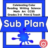 1-2 Day Sub Plan: Celebrating Color