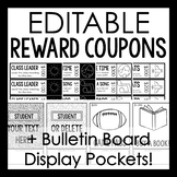 Classroom Coupons with Bulletin Board Display