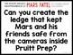 1/2 OFF 1ST 24 HOURS! MARS PATEL Podcast Themed STEM Challenge: NO CAMERA LEDGE