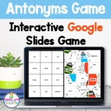 Antonyms Google Slides Game Literacy Activity