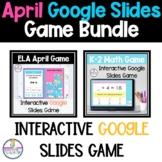 Math Addition/Subtraction and ELA Games on Google Slides™