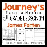 Journeys 5th Grade Lesson 14 James Forten Interactive Notebook