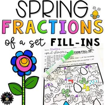 Fractions of a Set Worksheets