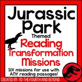 Jurassic Park Themed Transformation ELA Mission Pack