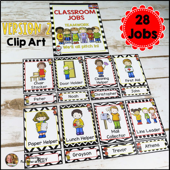 Classroom Jobs EDITABLE   Firefighter Decor