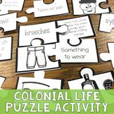 13 Colonies Puzzle Activity (SS3H3c)