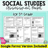 5th Grade Social Studies Assessment Packet