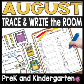 AUGUST Write the Room DIFFERENTIATED Writing Activities for Back to School