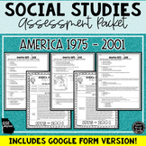 America 1975-2001 Assessment & Study Guide (SS5H7, SS5H7a,