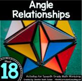 Angle Relationships   7th Grade Math Workshop   TEKS CCSS