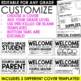 Back to School Flipbook for Open House or Meet the Teacher Night   EDITABLE