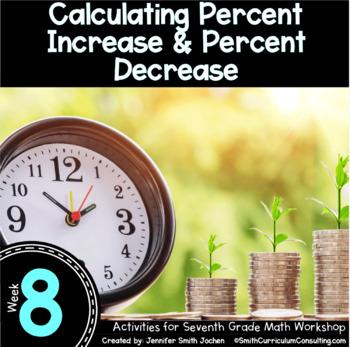 Calculating Percent Increase and Decrease | 7th Math Workshop