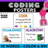Coding Vocabulary Posters HOUR OF CODE