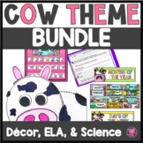 Cow Theme Classroom Bundle