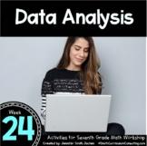 Data Analysis   Activities for 7th Grade Math Workshop