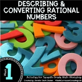 Describing and Converting Rational Numbers | 7th Math Workshop