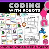 Robot Activity Mat Code Vocabulary