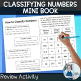 How to Classify Numbers Mini Book TEKS 6.2a